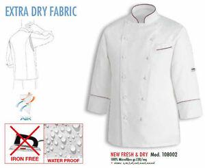 Куртка Fresh повар Cuisinier Italy Jacke Lumière De Veste Chef Egochef Шеф Cook IPvn7gn