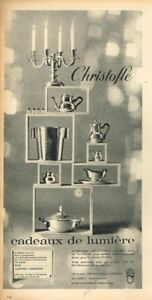 N-Publicite-Advertising-1963-Les-Cadeaux-de-Lumiere-Christofle