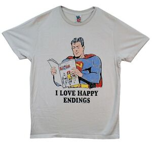 c2c4dd4b2 Image is loading Superman-I-Love-Happy-Endings-Junk-Food-Adult-