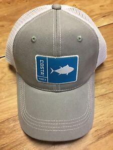 BRAND NEW COSTA DEL MAR MESH ADJUSTABLE CAP HAT ORIGINAL PATCH TUNA ... 95a5023855c