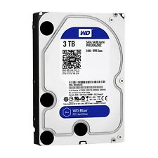 Western Digital Blue 3TB 6Gb/s HDD internal (8,9cm 3,5Zoll, SATA) WD30EZRZ