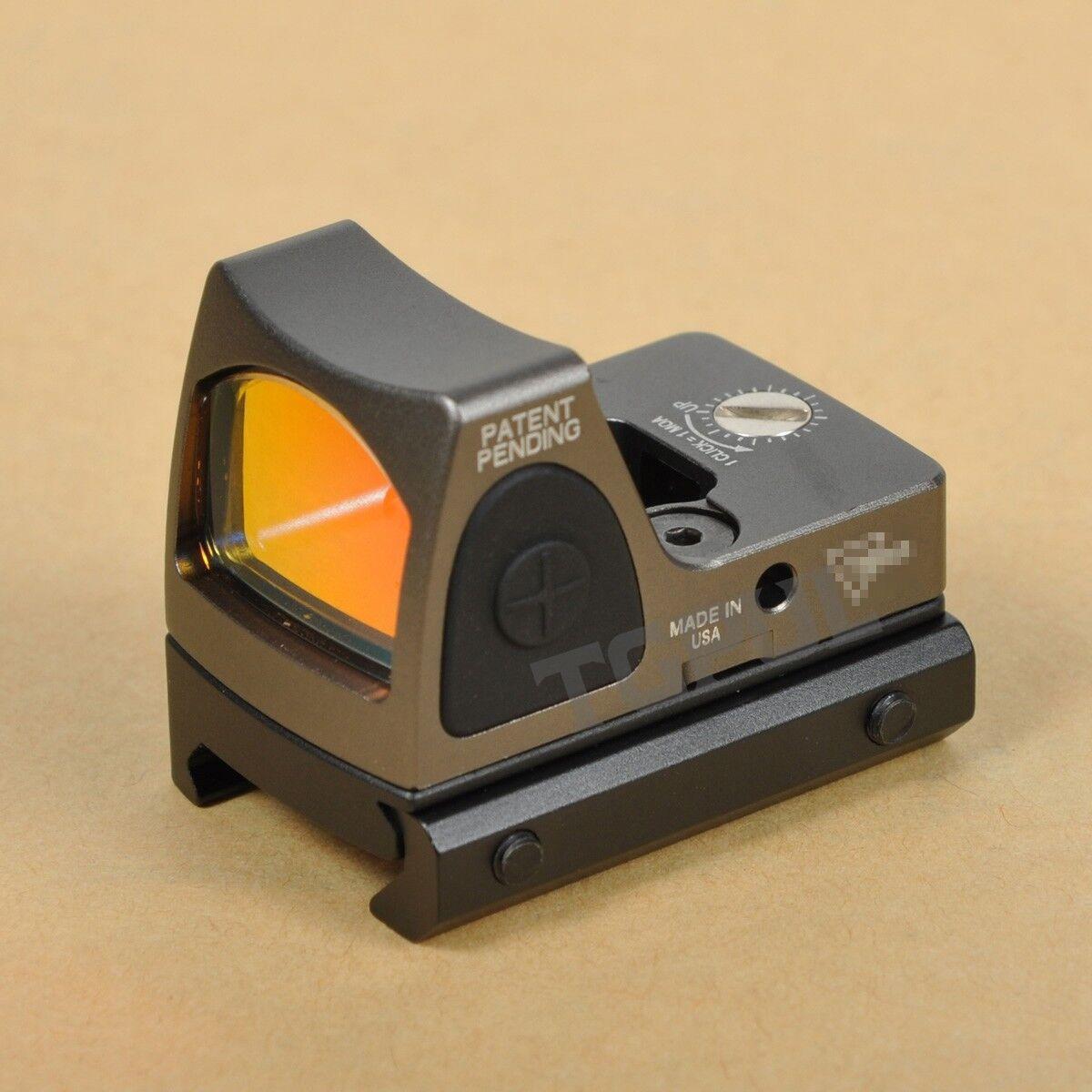 Tactical RMR 3.25 Moa Visor De Punto Rojo ajustable militar Reflex rojo dot scope