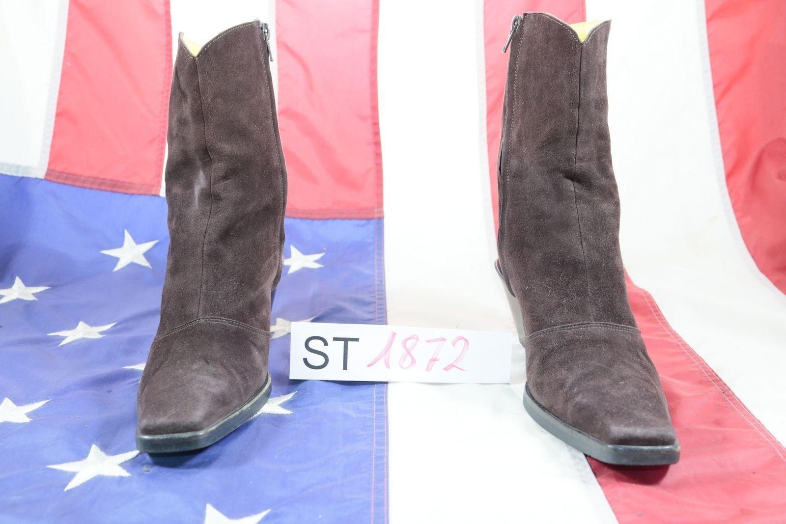 Stivali Lala Fashion (Cod. ST1872) USATO N.39 women camoscio browni Cowboy