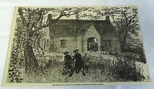 1882-Revista-Grabado-Estado-Hall-Anapolis-Maryland-5th-Nacional-Capitol