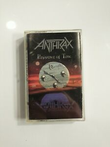 Anthrax - Persistence Of Time - Cassette Tape
