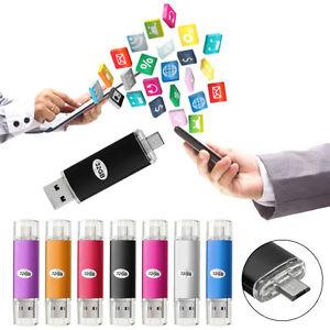 32GB-2-en-1-Micro-USB-2-0-Flash-Pen-Drive-Memory-Memoria-Stick-OTG-Funcion-Movil