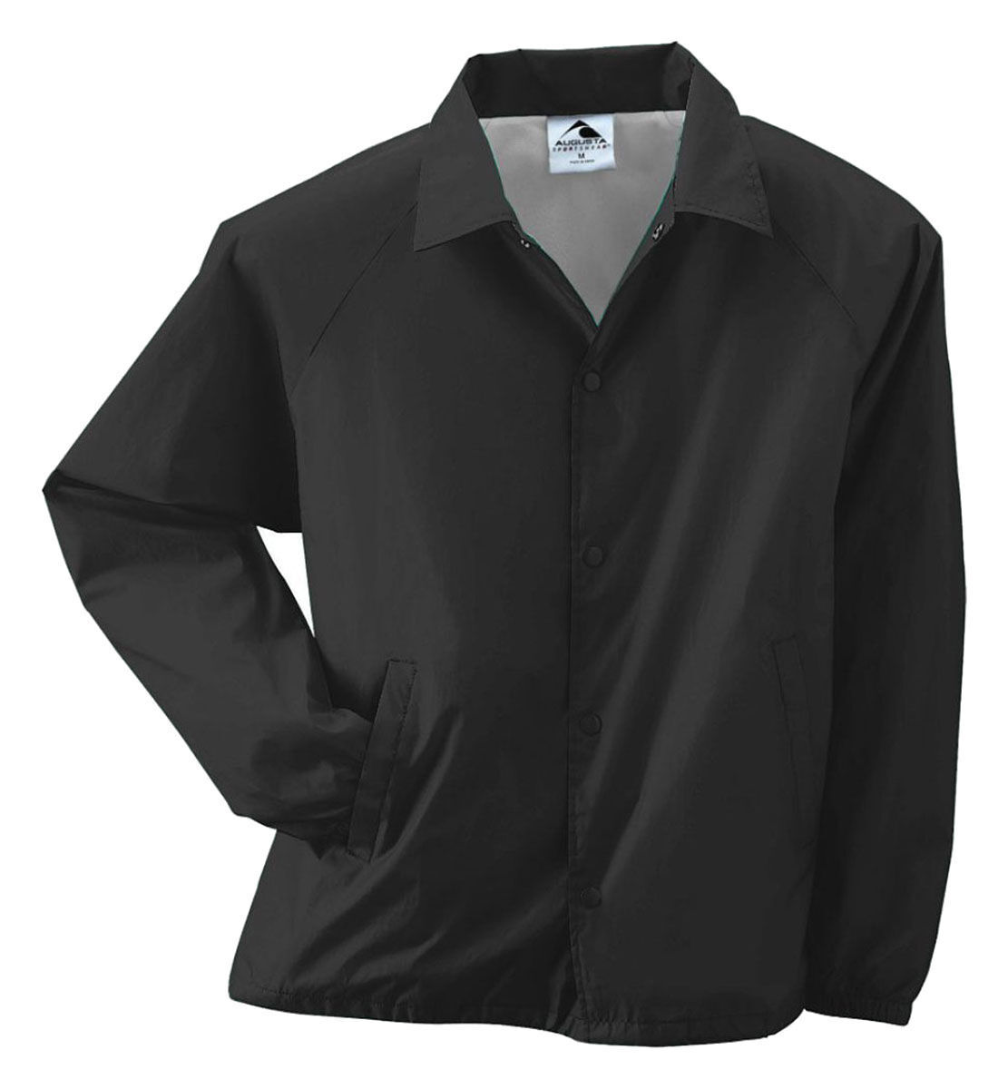 Augusta Sportswear Coach's Nylon Jacket Mens S-3XL 4XL 5XL Water Resistant. 3100