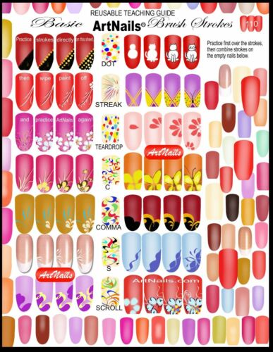 64 Pops Nail Art Tips Sticks Display Stand FAST ROYAL MAIL UK delivery