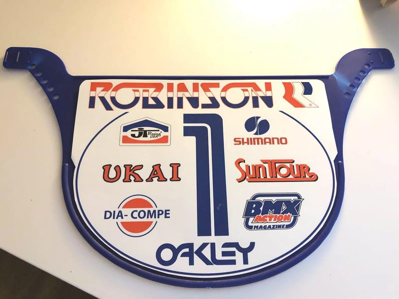 Old School Predo Plate BMX Number plate by NEAL Enterprises - ROBINSON BMX