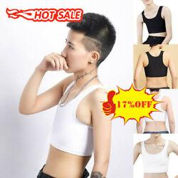 Frauen Buckle Ftm Short Brust Breast Binder Lesben Trans Tomboy Plus Size