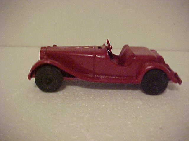 Vintage 1950's Hubley Kiddie Car MG Roadster