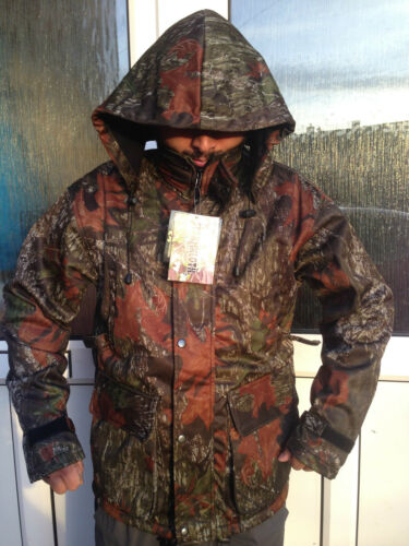 MOOSSYOAK FISHING JACKET STORMKLOTH MOLE SKIN HUNTING SHOOTING SOFT SHELL COAT