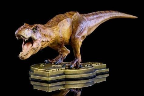 Muy raras Jurassic Park 25th Aniversario T-rex Figura mundo Tiranosaurio EMS