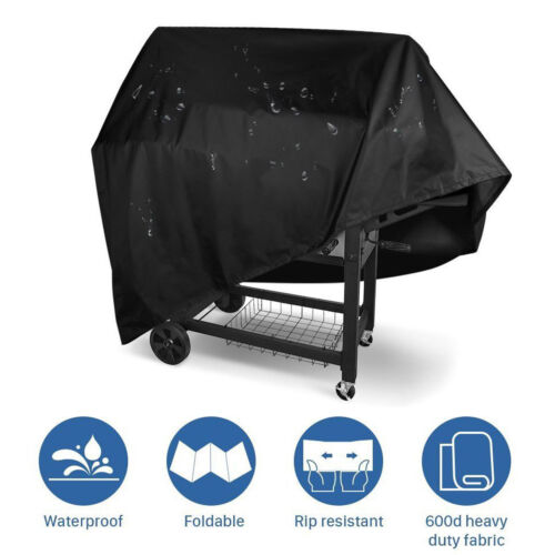 BBQ Barbecue Grill Cover 3//4//5 Burner Outdoor Waterproof Rain UV Gas Protection