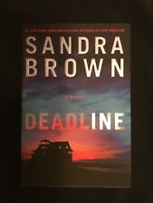 Deadline by Sandra Brown (2013, Hardcover, Large Type)