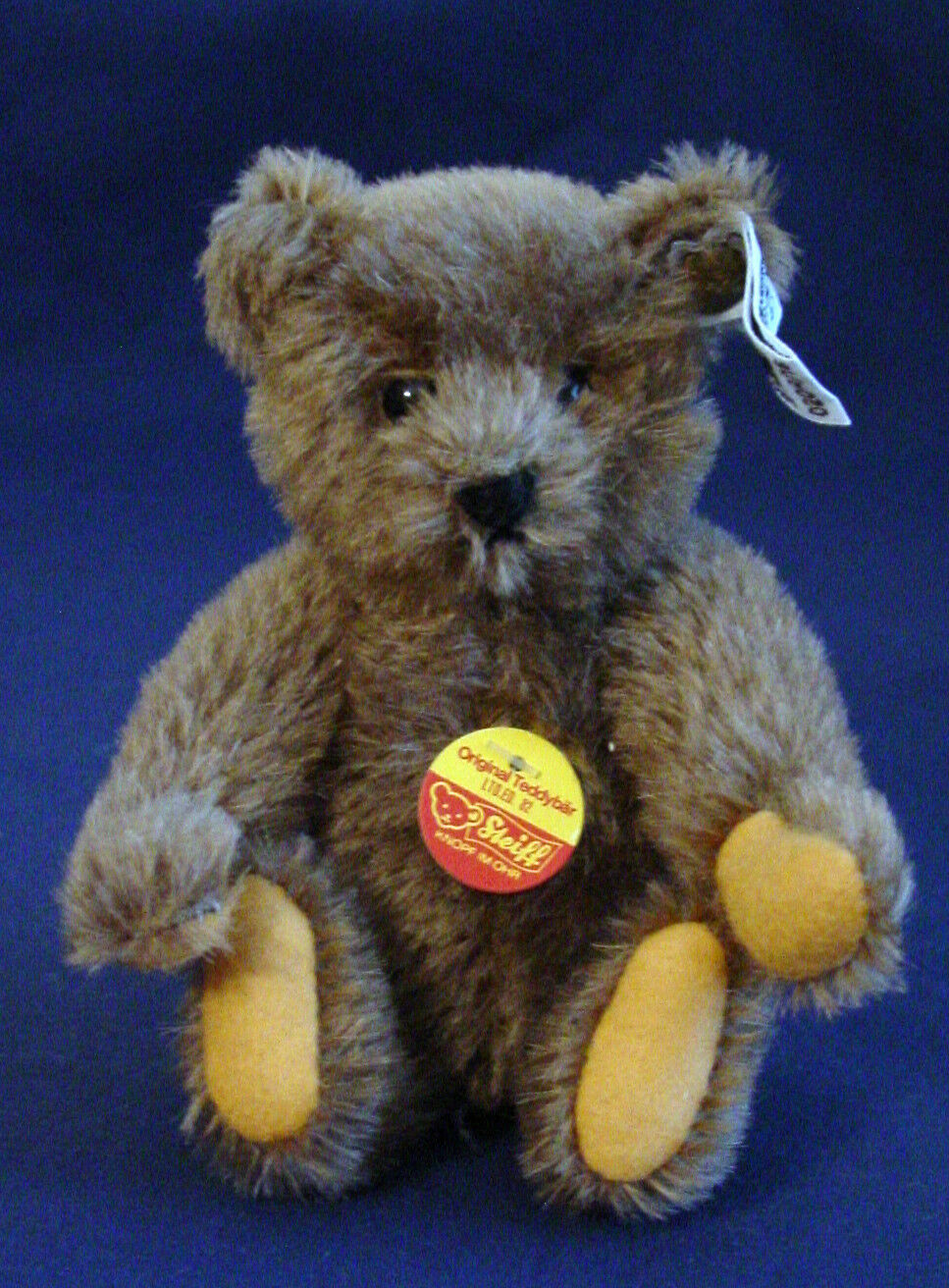 Steiff - Carmel Mohair Teddy Bear from Tea Party Set from 1982 ean   0204/16