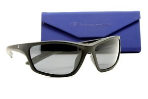 df5f689042df Image is loading Champion-Matte-Black-Sports-Polarized-Sunglasses-w-Anti-