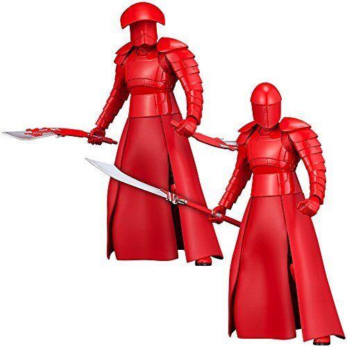 Artfax + Star Wars Elite Pretoriano Guardia Confezione da 2 1 10 PVC Statuetta