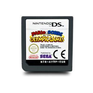 Jeu-DS-Mario-amp-Sonic-aux-Jeux-Olympiques-sans-Emballage-D-039-Origine-sans-Anl-BB