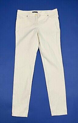 Ambizioso Luisa Spagnoli Jeans Donna Usato W28 Tg 42 Skinny Slim Stretch Pantalone T5498 Top Angurie