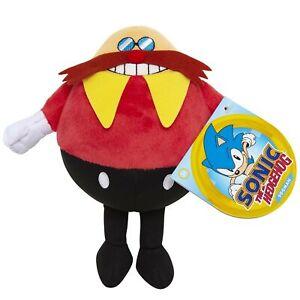 Jakks-Pacific-Dr-Robotnik-Eggman-Pluesch-Sonic-der-Igel-17-8cm-Plueschtier-Figur