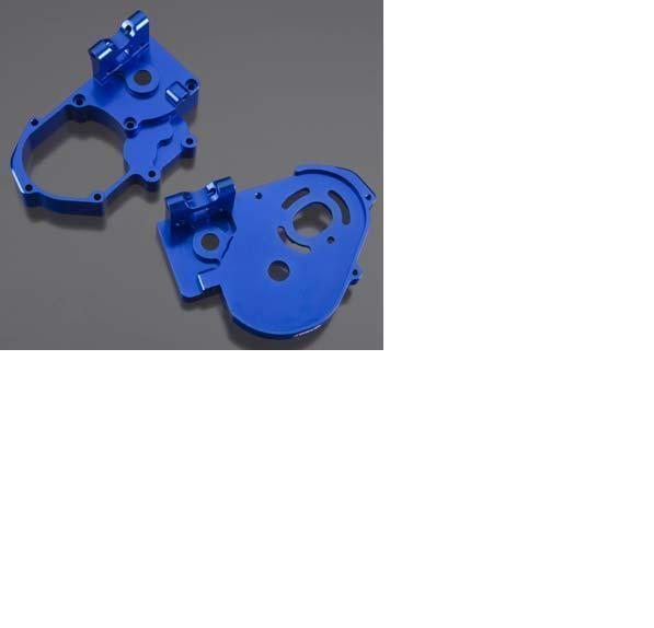 Integy Azul Aleación H D Caja de cambios para 1 10 Traxxas 2WD Slash R C Camión INTT 8098BL