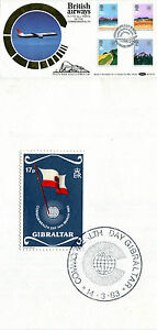 9 MARCH 1983 COMMONWEALTH DAY BENHAM BOCS (2) 18 FIRST DAY COVER GATWICK SHS