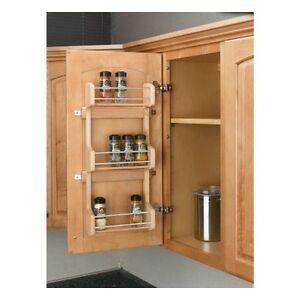 Shelf Kitchen Pantry Cabinet Door Mount