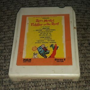 FIDDLER ON THE ROOF Original Broadway Cast Recording 8-TRACK TAPE RCA O8S-1005