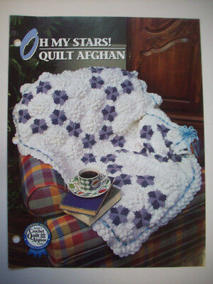 Annie/'s Books-quilt-style Crochet Throws