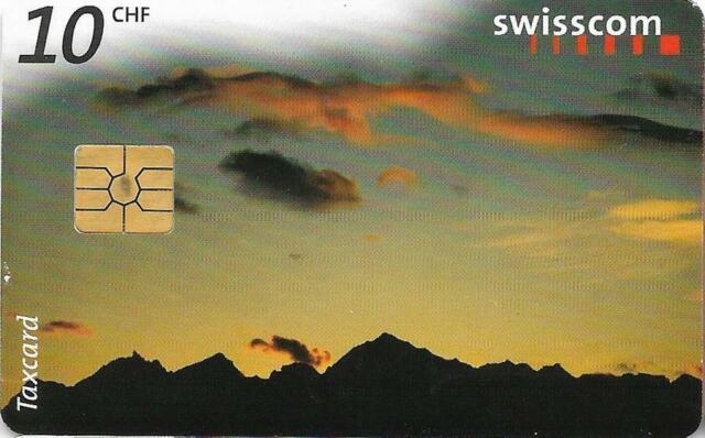 SWITZERLAND SWISSCOM PHONECARD LUCENDRO 10CHF