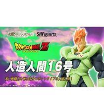 Bandai Tamashii SH Figuarts(SHF) DragonBall Z Android No. 16 Action Figure