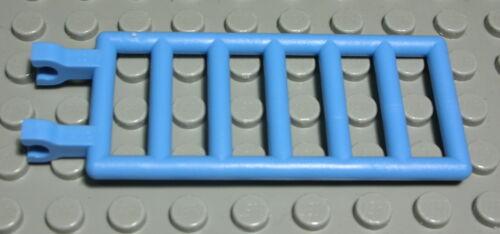2018 Lego Leiter Zaun Gitter mit Clip 3x7 Hellblau