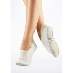 Dancewear & Accessories Clothes, Shoes & Accessories AA GYMNASTIC SHOES WHITE LEATHER TRAMPOLINING pumps TRAINING DANCE CUSHIONED