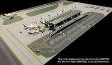 GJARPTB Gemini Jets Airside Landside LED Lighted Airport 1/400 Diecast Terminal
