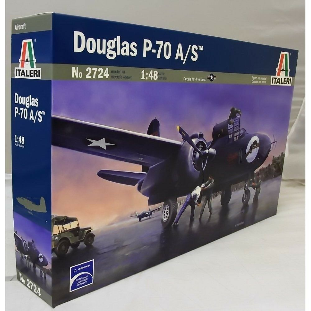 Italeri 1 48 2724 Douglas P70A A S Night Fighter Model Aircraft Kit