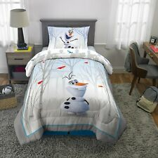 Disney Frozen Olaf the Snowman 5pc Full Comforter and Sheet Set Bedding Collection Franco Manufacturing Company INC 3891157