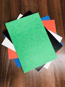 Brillant aspect cuir carton couvre (Assortiment) (210X297MM (A4))