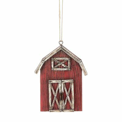 Red Barn Farm Christmas Tree Ornament Midwest CBK ...