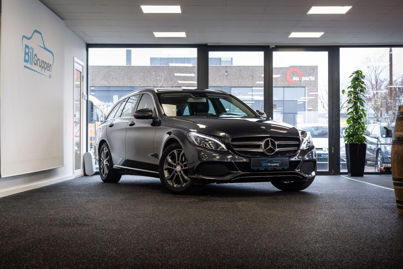 Mercedes C220 d 2,2 Avantgarde stc. aut. 5d - 294.900 kr.