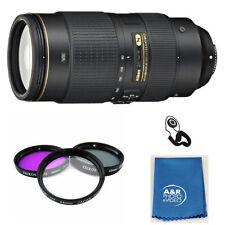 Nikon 80-400mm f/4.5-5.6G ED VR AF-S NIKKOR Lens for Nikon Digital SLRs + Filter