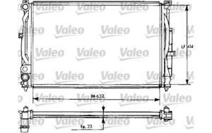 VALEO-Radiador-refrigeracion-del-motor-para-VW-PASSAT-AUDI-A4-A6-731537