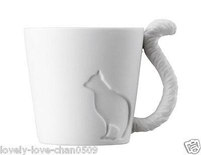 KINTO Mugtail Ceramic Mug 150ml Cat (16242)