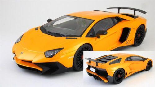 Lamborghini Aventator LP750 4SV Superveloce orange metallic 1:18 Kyosho OVP NEU