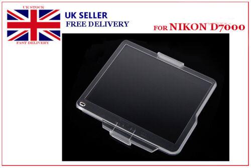 Dura cubierta Protector de Pantalla LCD BM-11 compatible con Nikon D7000