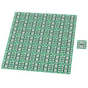 50pcs-sop8-SSOP-8-TSSOP-8-SMD-auf-dip8-Adapter-0-65-1-27mm-Leiterplatte-t7z6