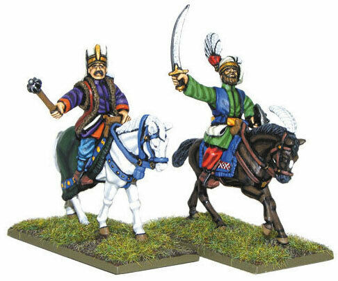 WLGWGP-OT-50 Pike and Shotte Ottoman Janissary Officers Mounted