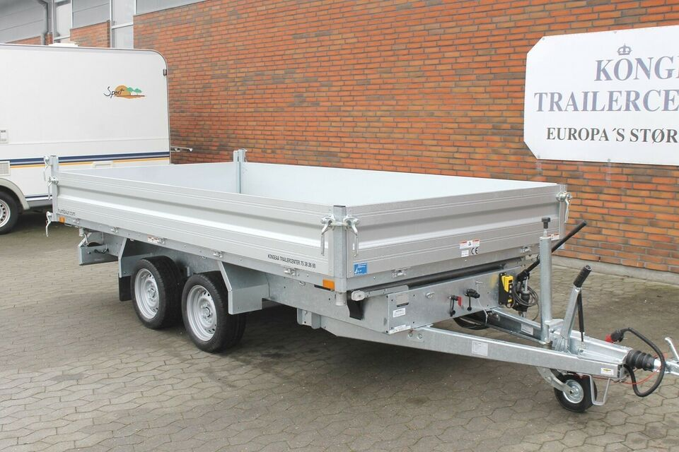 Tiptrailer Tiptrailer - Humbaur HTK 3000.37, lastevne
