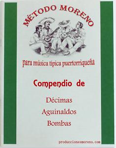 Compendio de Décimas, Aguinaldos y Bombas