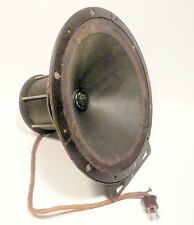 "vintage * ATWATER KENT 11"" FIELD COIL type ""F-7"" WORKING SPEAKER - 2200 OHMS"